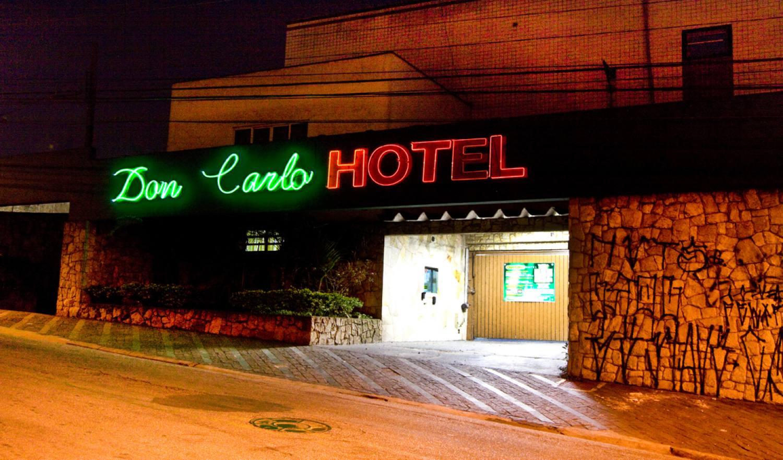 Fachada Hotel Don Carlo - Hotel em São Bernardo do Campo