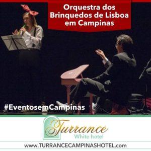 Amanhã no teatro Sesi - Orquestra dos Brinquedos de Lisboa