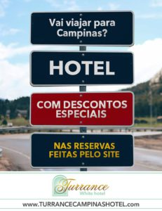 Vem para Campinas? Fique no Turrance White hotel!