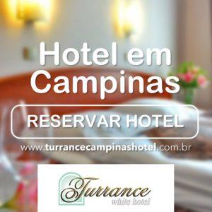 Seu descanso merece mais o melhor, fique no Turrance White Hotel, em Campinas!