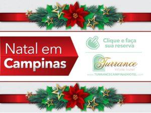 Venha você também passar o natal em Campinas!