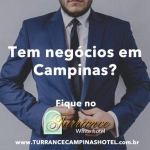 O melhor custo benefício de Campinas é o Turrance White hotel.