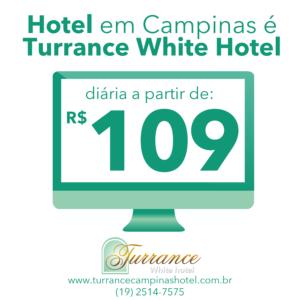 Hotel em Campinas é Turrance White!
