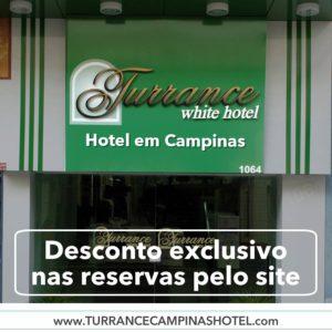 Está viajando a negócios? Fique no Turrance White hotel.