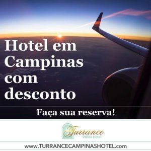 HOTEL EM CAMPINAS É AQUI!