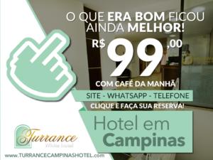 Venha para Campinas e fique no Turrance White Campinas Hotel