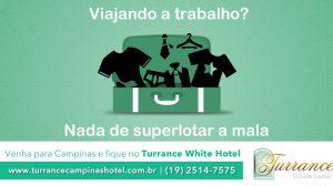 Dica de viagem do Turrance White Hotel Campinas