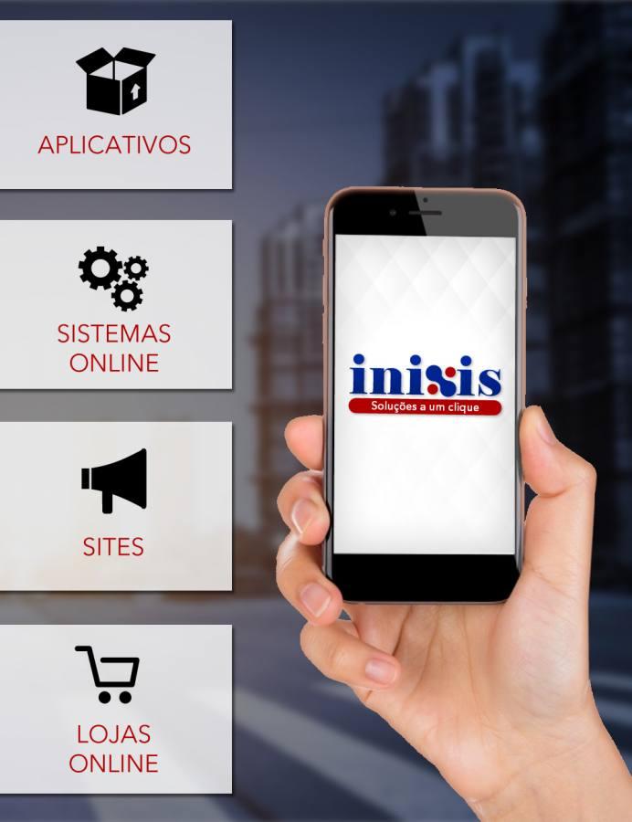 Site, loja, sistema ou aplicativos