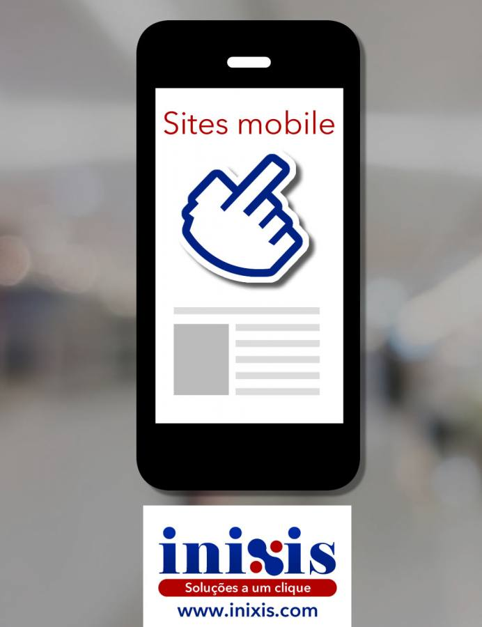 Sites adaptados para smartphones