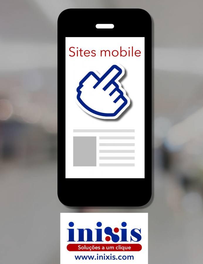 Sites adaptados para smartphones