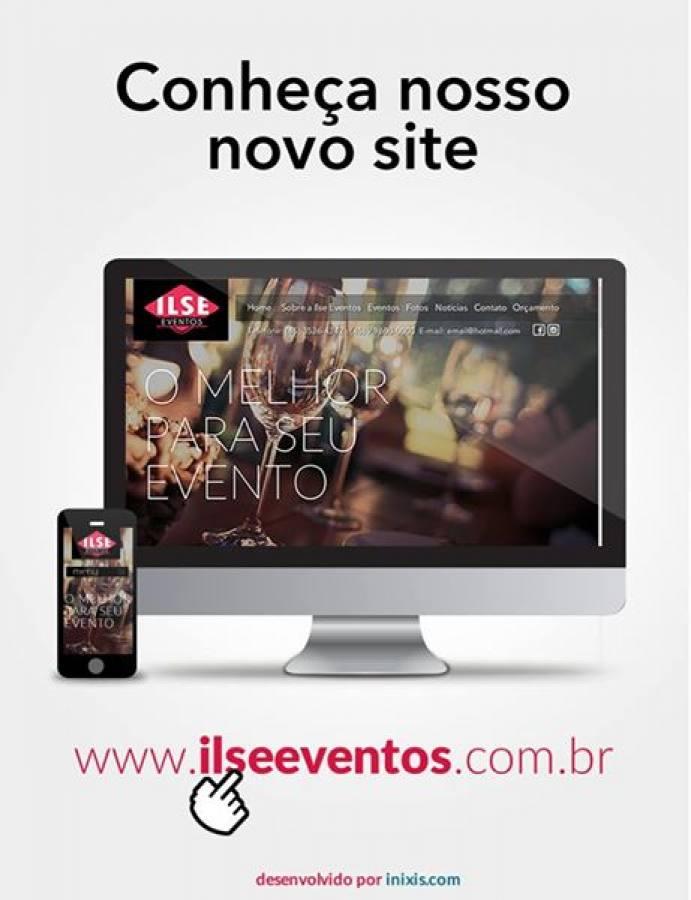 Conheça o novo site da Ilse Eventos
