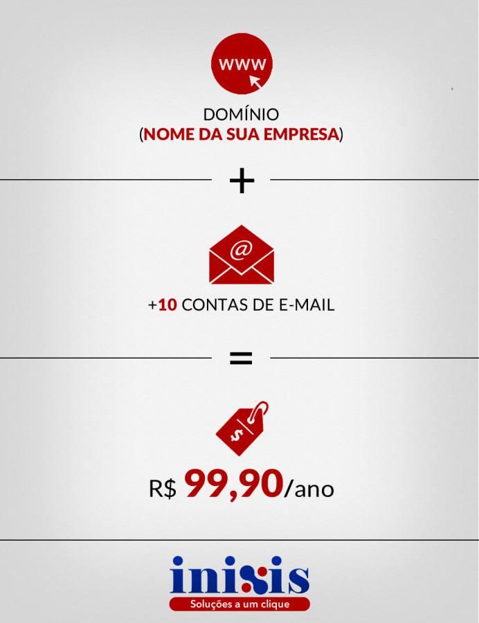 Email profissional por apenas R$ 99,90/ano