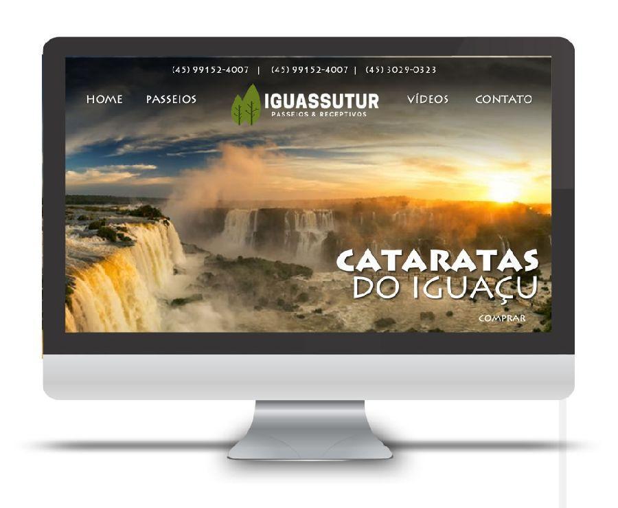 Landing Page Iguassu Tur