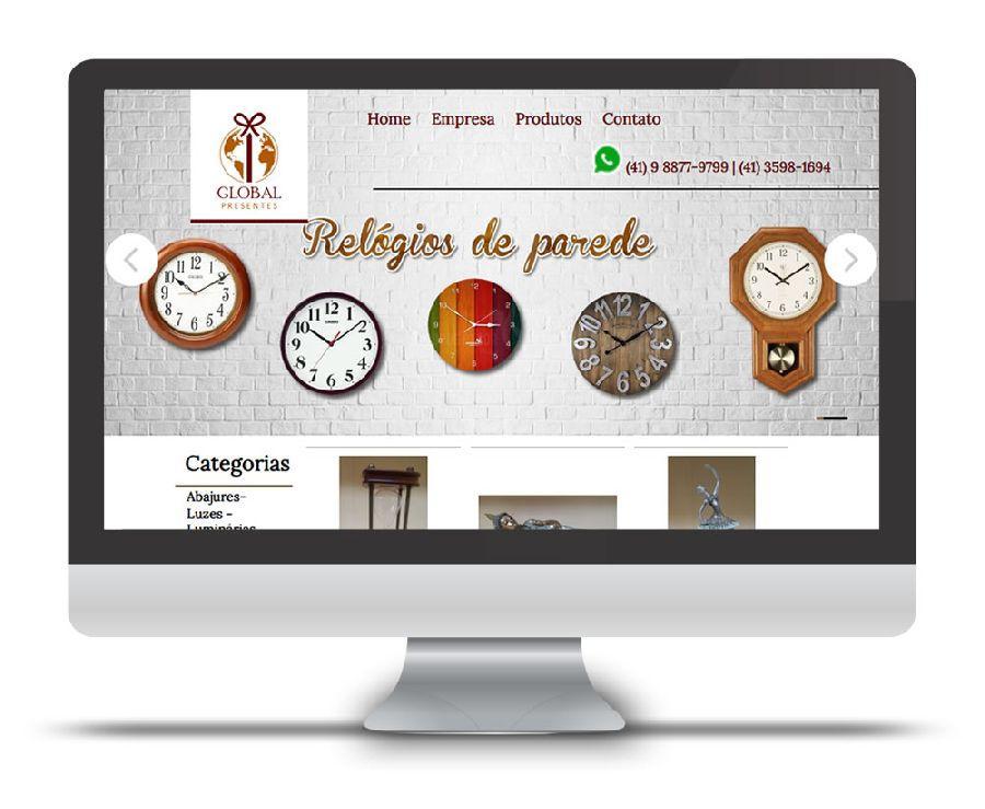 Loja online Global Presentes