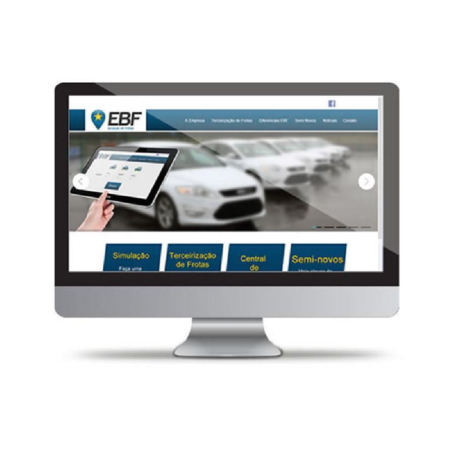 Site EBF - Empresa Brasileira de Frotas