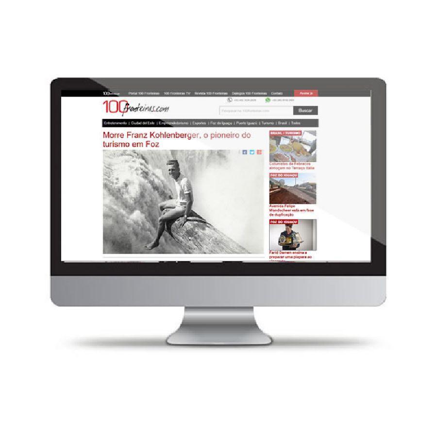 Portal de notícias 100Fronteiras.com